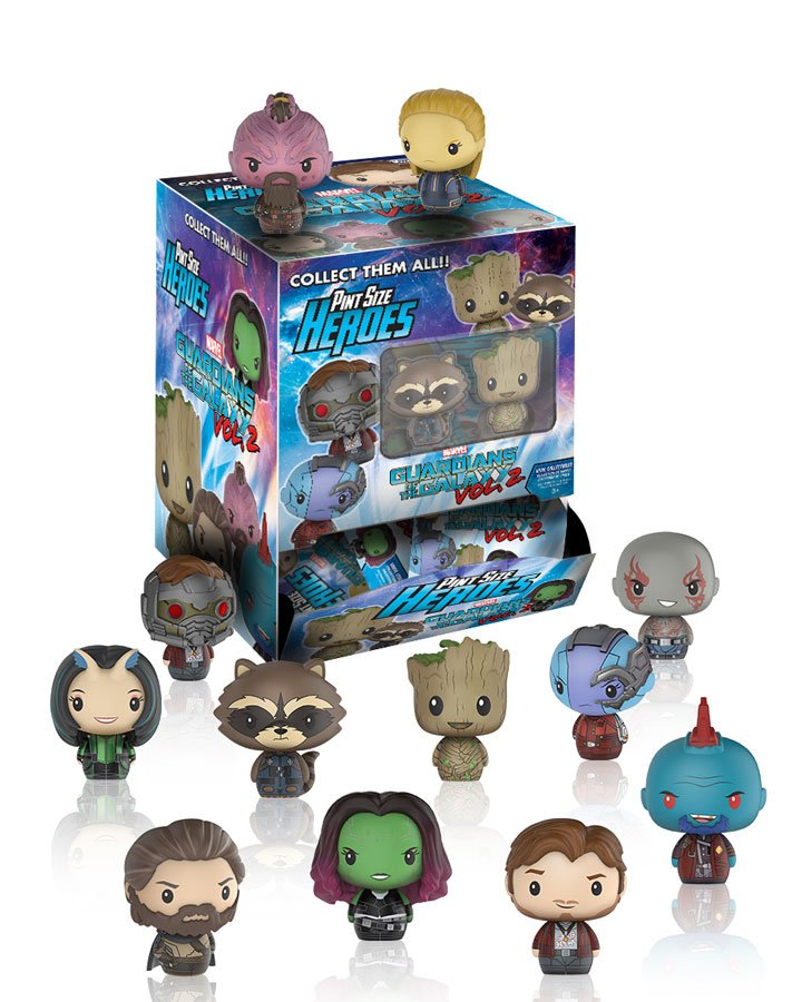 RT & follow @OriginalFunko for the chance to win TEN Guardians of the Galaxy Pint Size Heroes!