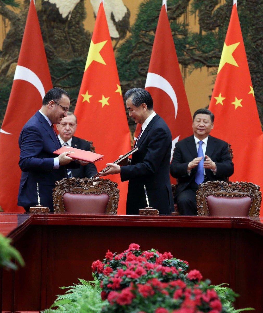 """T.C. Adalet Bakanlığı в Twitter: """"Adalet Bakanı Bekir Bozdağ,Türkiye ile Çin  arasında """"Suçluların Karşılıklı İadesi Anlaşması""""nı imzaladı.… """""""