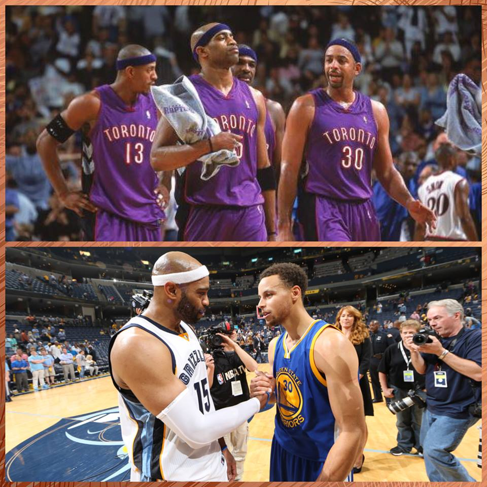 """Chris Walder on Twitter """"Vince Carter was teammates with Dell"""