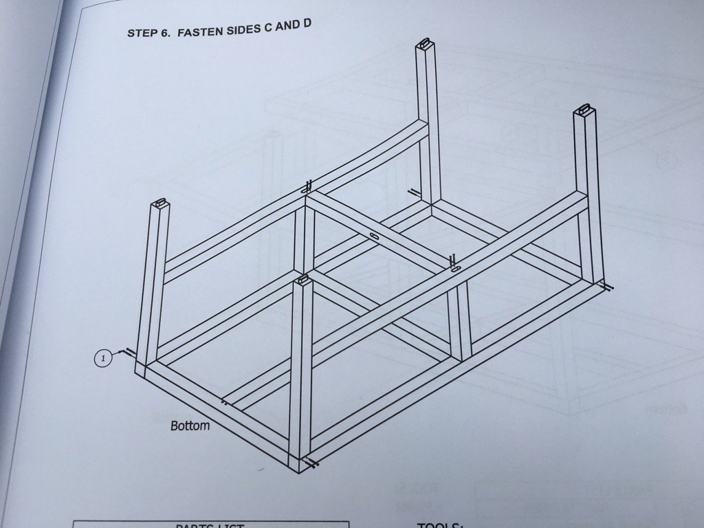 Step 6. The moment where you become convinced that the Playset you are trying to assemble was designed by Escher. https://t.co/E4m8ajZu9G