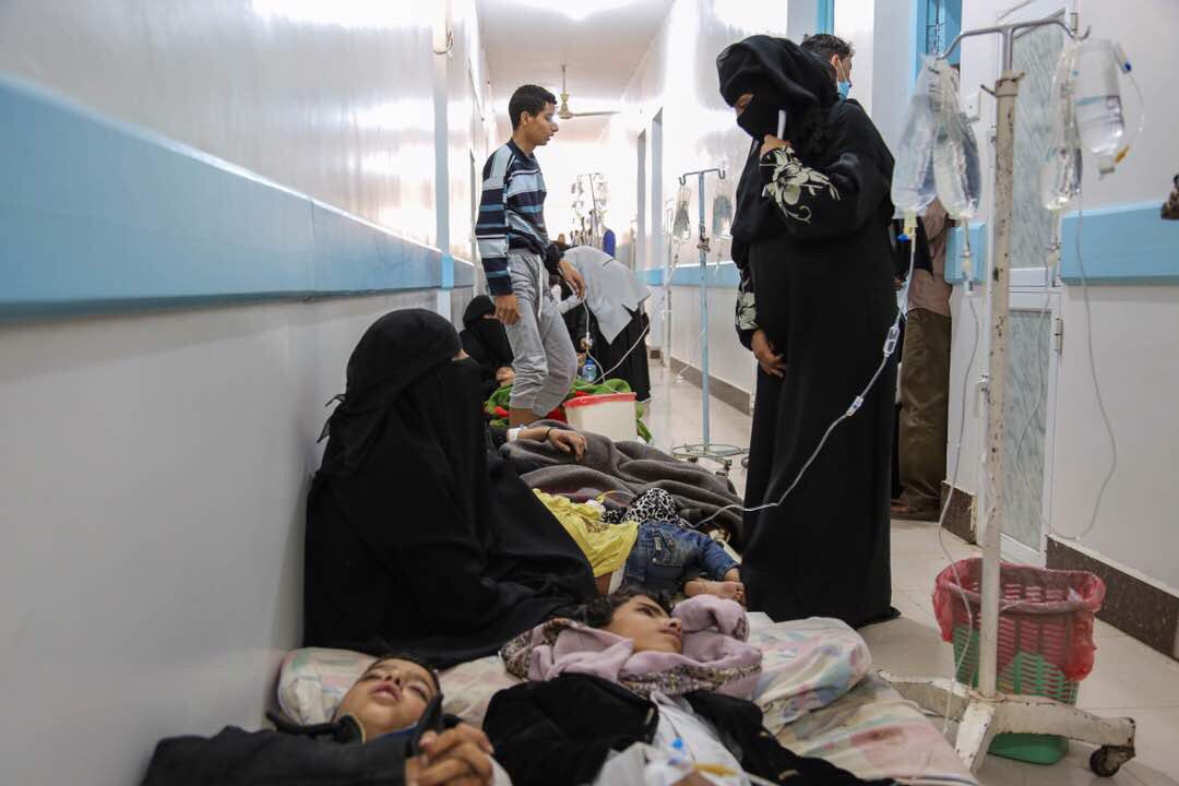 UNICEF Yemen: 88 cases of cholera in 14 counties-6000  severe water diarrheas and 97 deaths (8 from cholera diarrhoea)