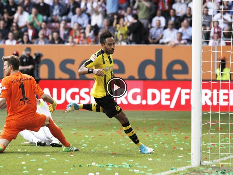 #Augsburg 1 #Borussia #Dortmund 1: #Aubameyang #Salvages draw    http:// wp.me/p67m4w-iW9  &nbsp;  <br>http://pic.twitter.com/HHDFAjrY6H