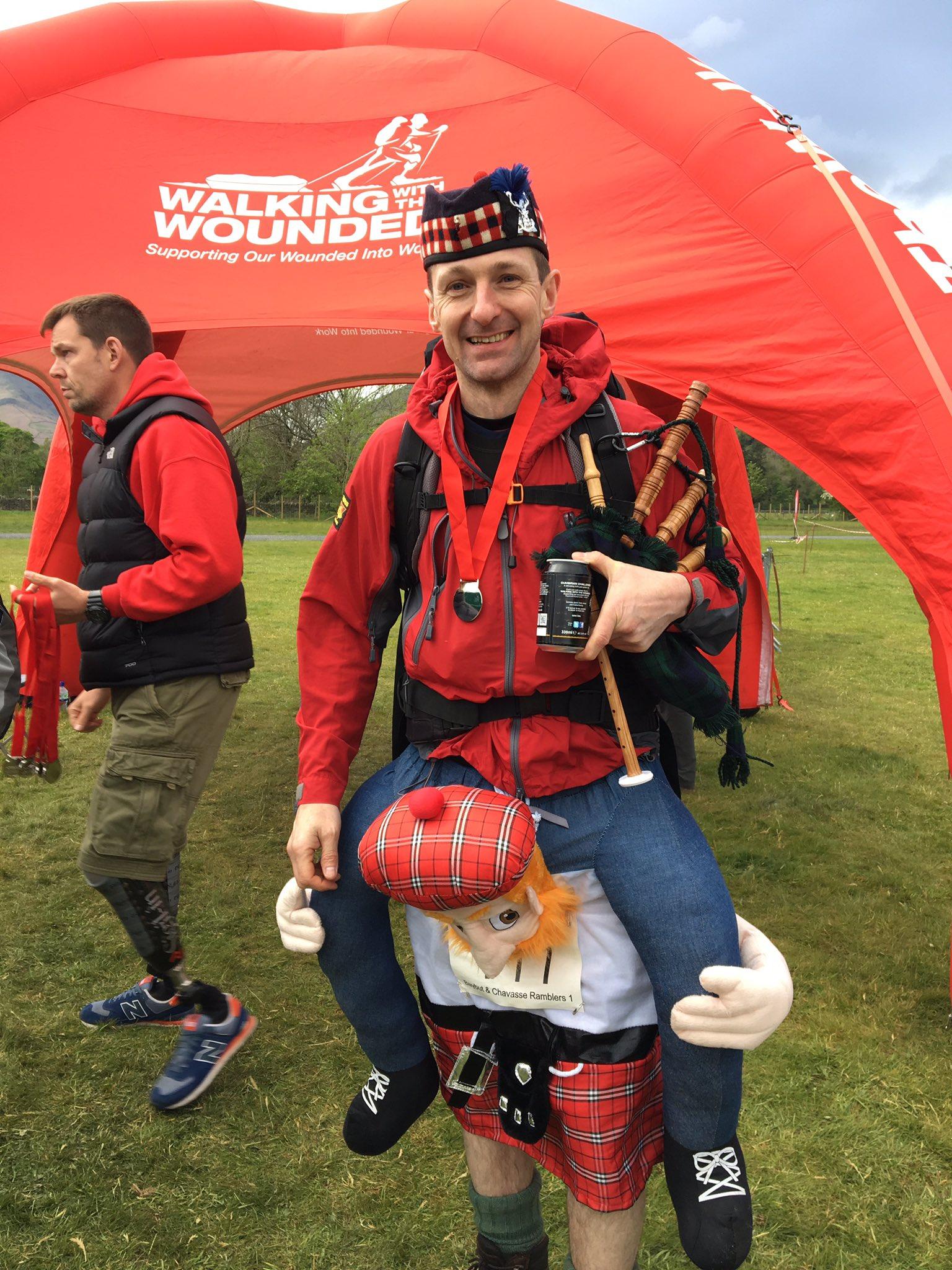 Great Scot he did well!@supportthewalk #CumbrianChallenge https://t.co/BlDaS7e4ql