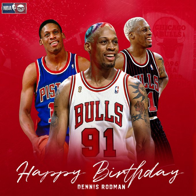 "Happy Birthday to ""The Worm,\"" Dennis Rodman!"