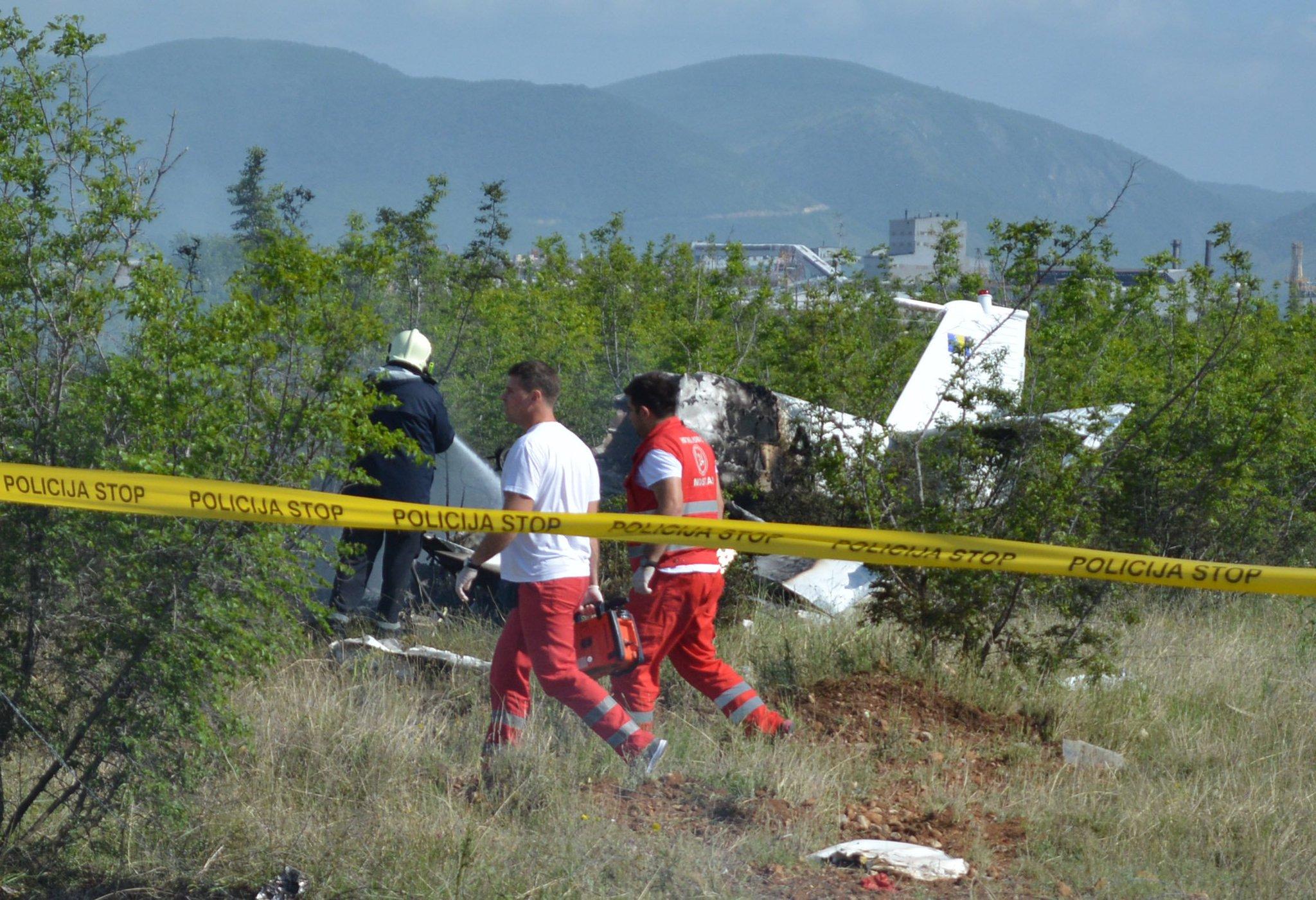 ВБоснии иГерцеговине упал самолет: есть погибшие изних трое