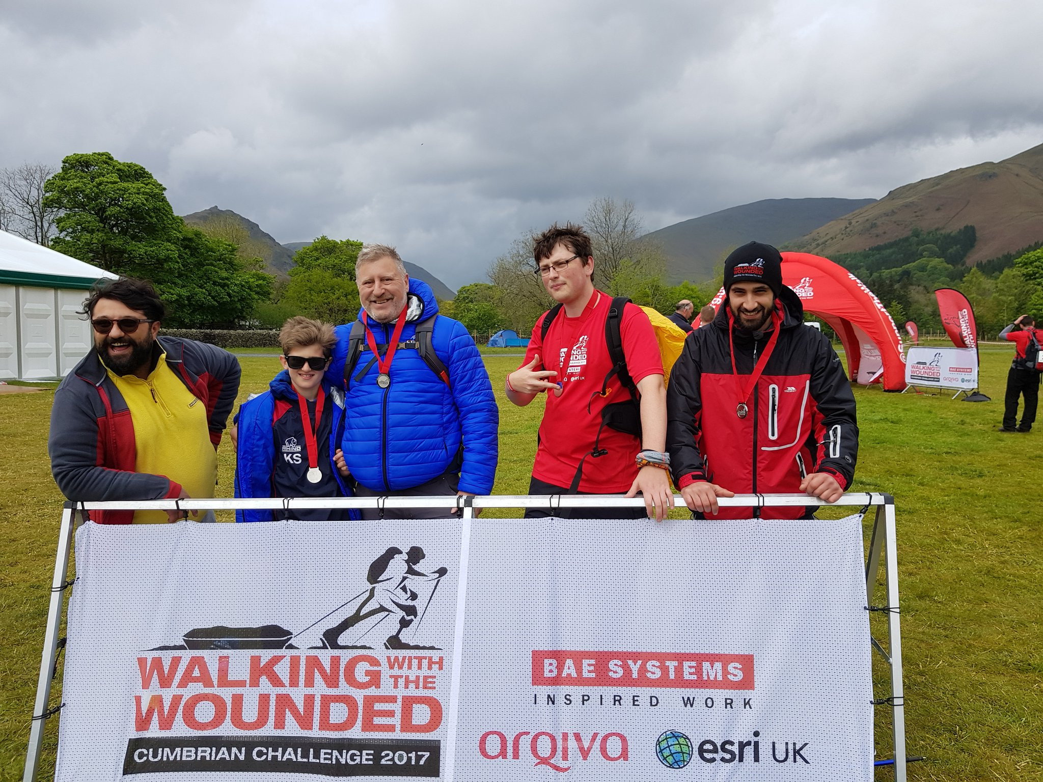 We did it #cumbrianchallenge #shattered. Thank you @GOSSOutdoor for the company :) https://t.co/tTWXaySAH6
