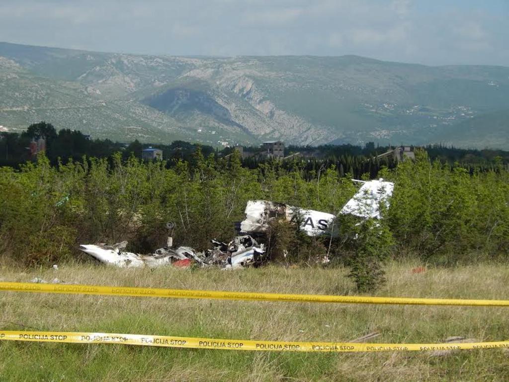 Спортивный самолет потерпел крушение вБоснии иГерцеговине: среди погибших есть дети