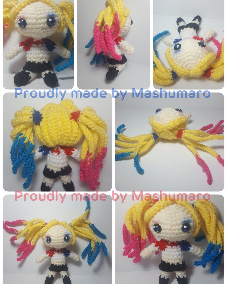 Elvira the Woodland Elf Amigurumi Art Doll | 1200x960