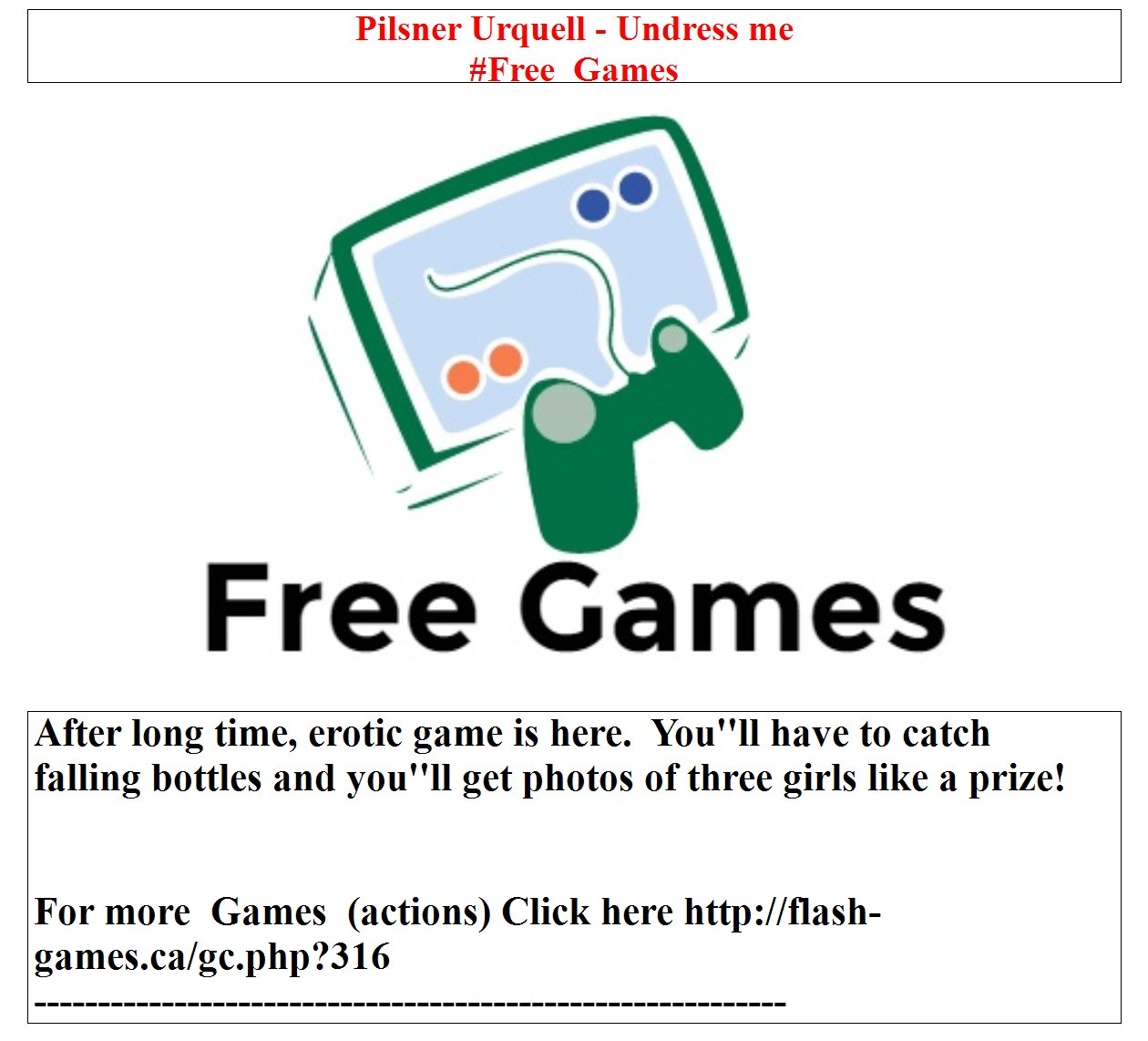 Pilsner urquell games free download by comppodeper issuu.
