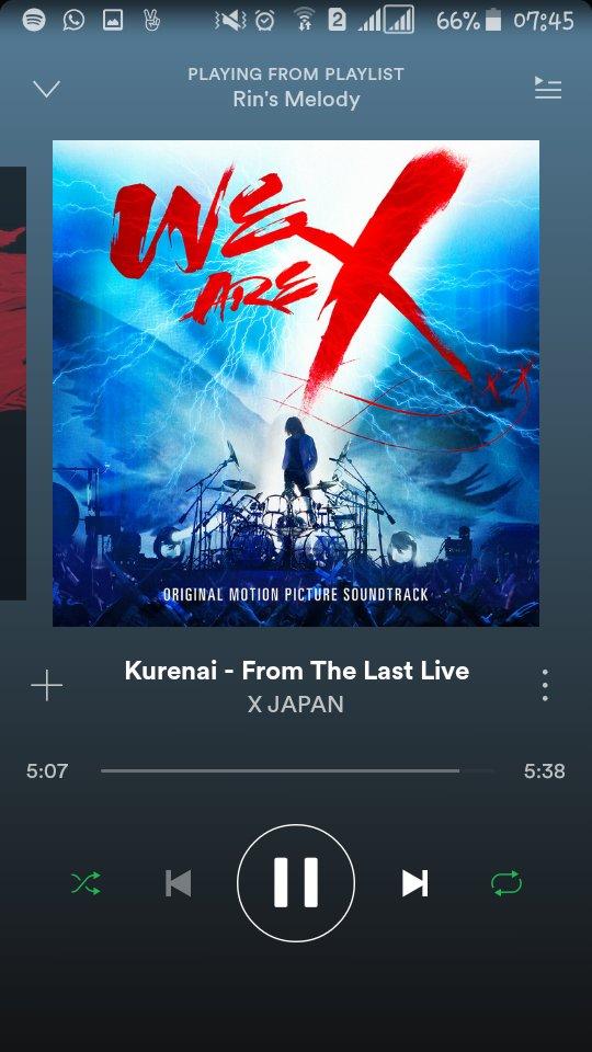 This gives me goosebumps!!  #WeAreX #Kurenai <br>http://pic.twitter.com/H3HtBHtHsh