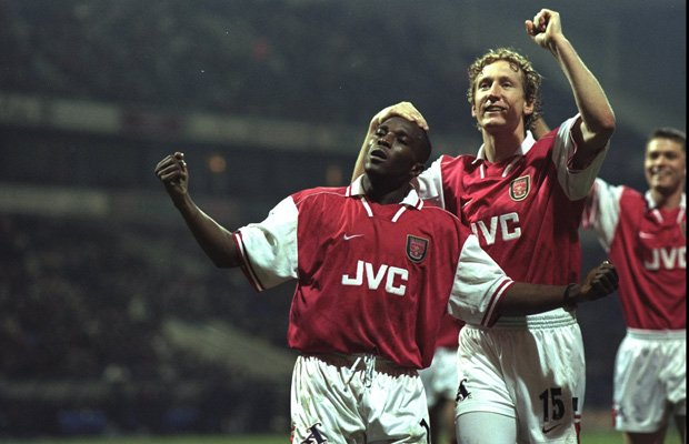 Happy birthday to Double winner Christopher Wreh, the only Liberian player ever to win the Premier League.