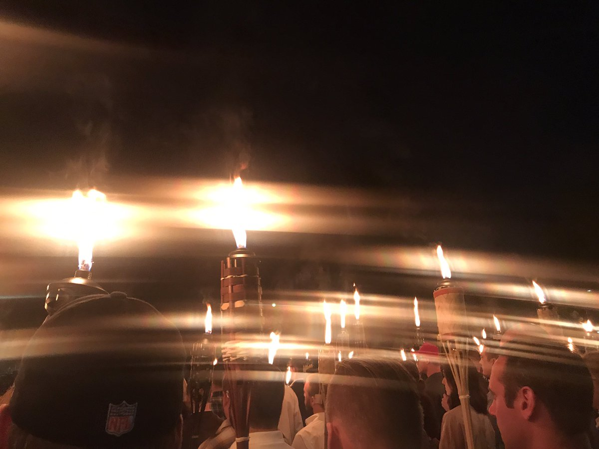 Right-wing rally in Charlottesville, VA