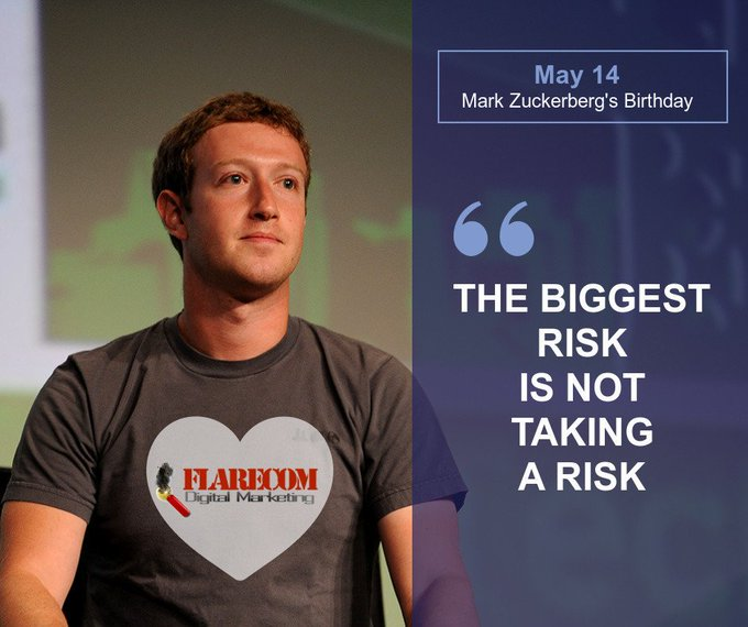 Happy Birthday to Mark Zuckerberg, CEO - Facebook !