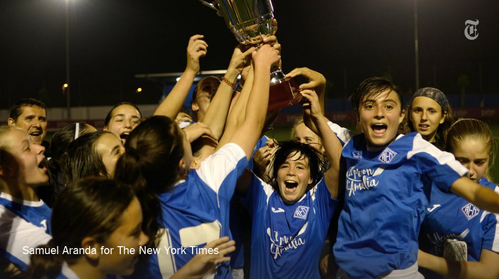 This girls' soccer team joined a boys' league, and won it https://t.co/kkrbdDVAHg https://t.co/6rP4zvOV2t