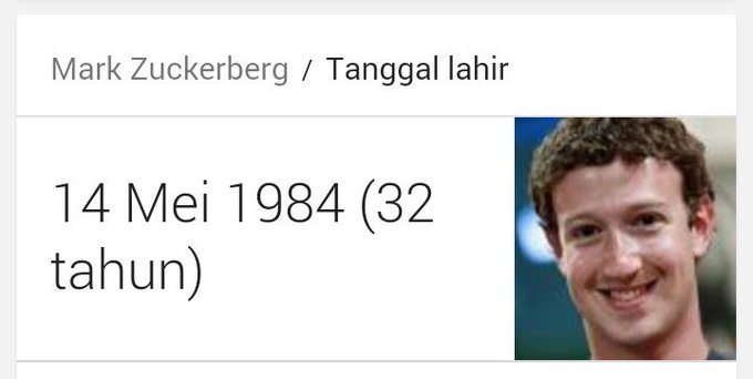 Happy birthday Mark Zuckerberg, happy birthday to me :v I hope someday I can succeed like him..