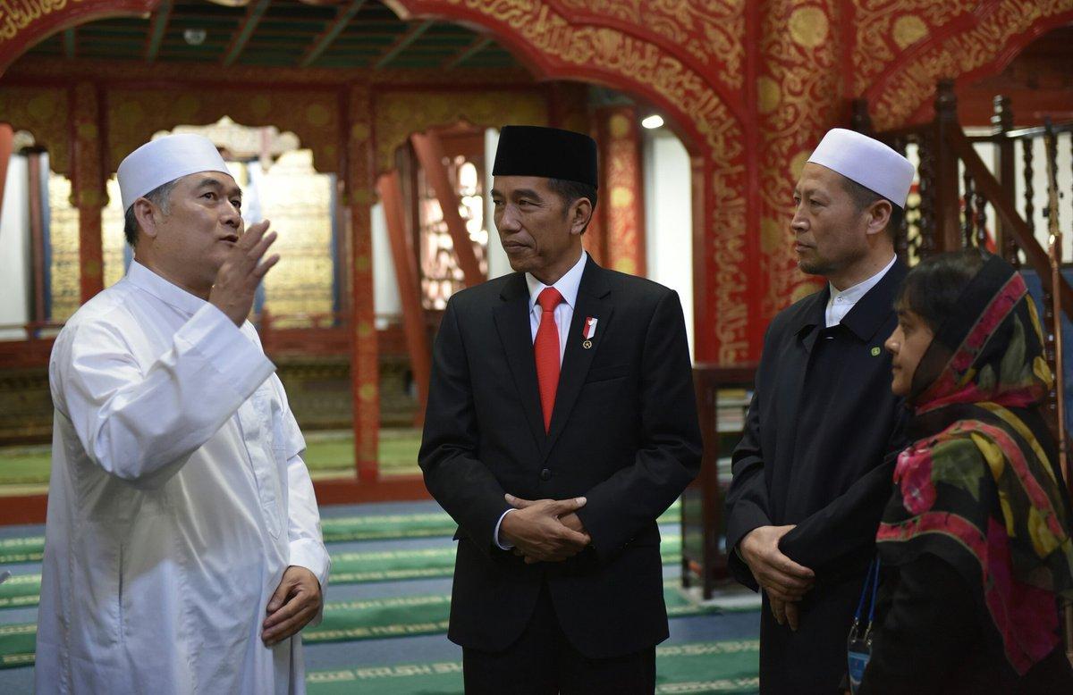 Alasan Presiden Jokowi ke Masjid Niujie, ingin melihat kehidupan umat muslim Tiongkok