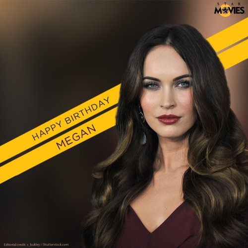 Here s wishing the gorgeous Megan Fox, a happy 31st birthday!