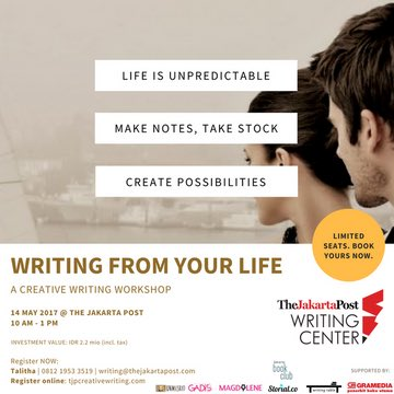 THE JAKARTA POST CREATIVE WRITING WORKSHOP  Travel Writing     SP ZOZ   ukowo   replies   retweets   likes