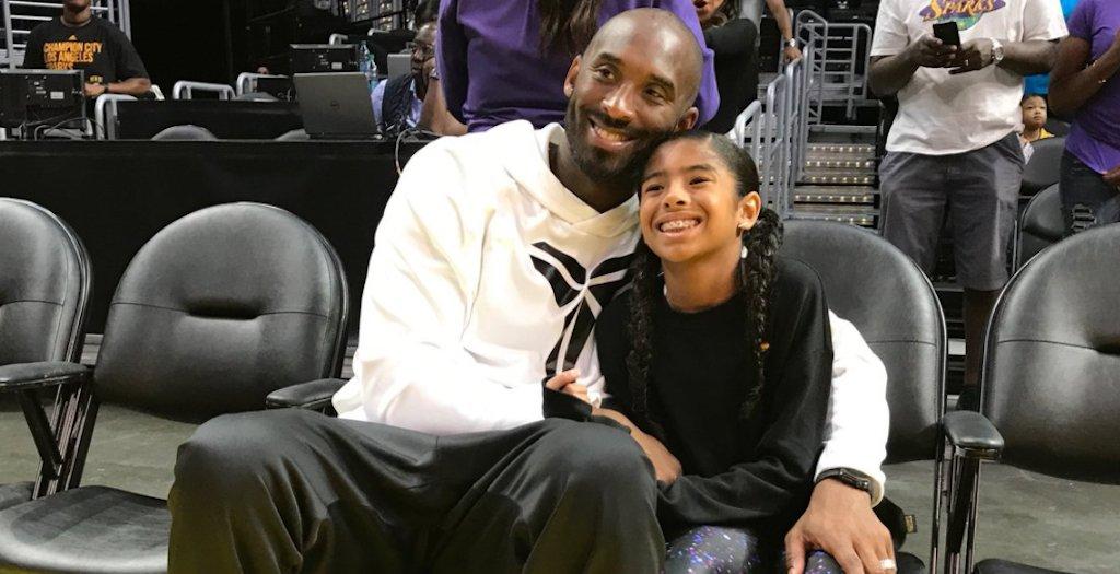 科比攜女兒現場看WNBA 這是培養未來之星的節奏?(影)