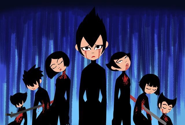 Wait a minute, if they really are Akus daughters, then how come they are not immortal like him?#SamuraiJack