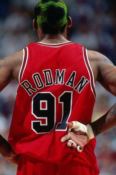 "Happy Birthday to ""The Worm\"" Dennis Rodman!"