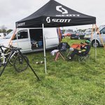 Ready to roll @TORQfitness @bikeonscott @SchwalbeUK #hsbcbritishcycling #nationalmtbseries #round3 #askeestate