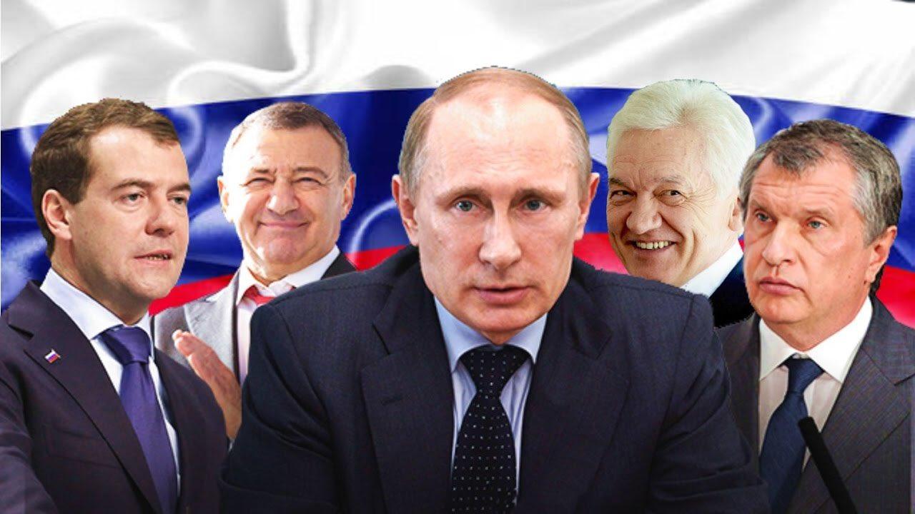 Путин с олигархами фото