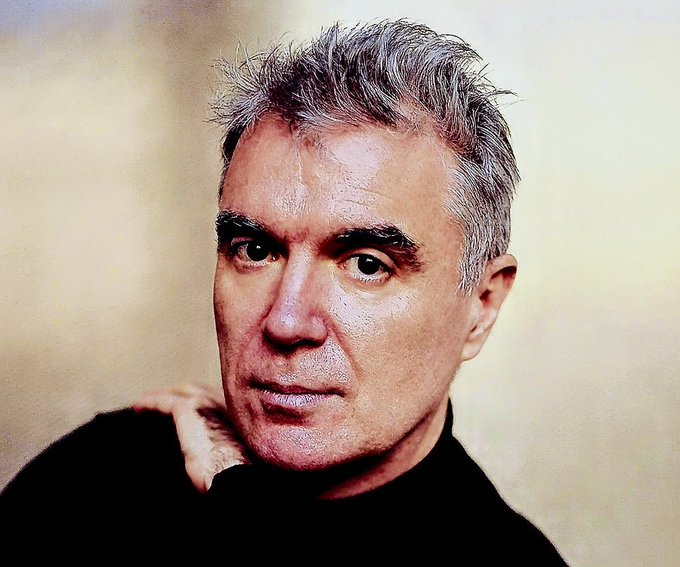 Happy birthday to Talking Heads lead singer and guitarist, David Byrne!