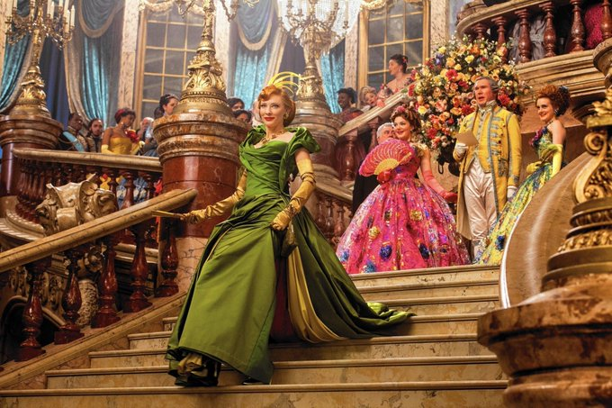 """Happy Birthday, Cate Blanchett! Seen here as the wicked stepmother in Disney\s \""""Cinderella\""""."""