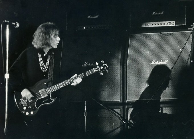 Happy Birthday Jack Bruce.  One of the great bass players.