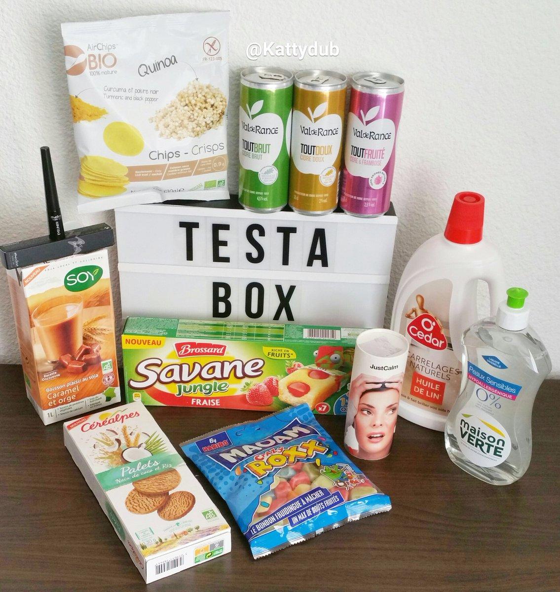 Test de la TestaBox Avril 2017