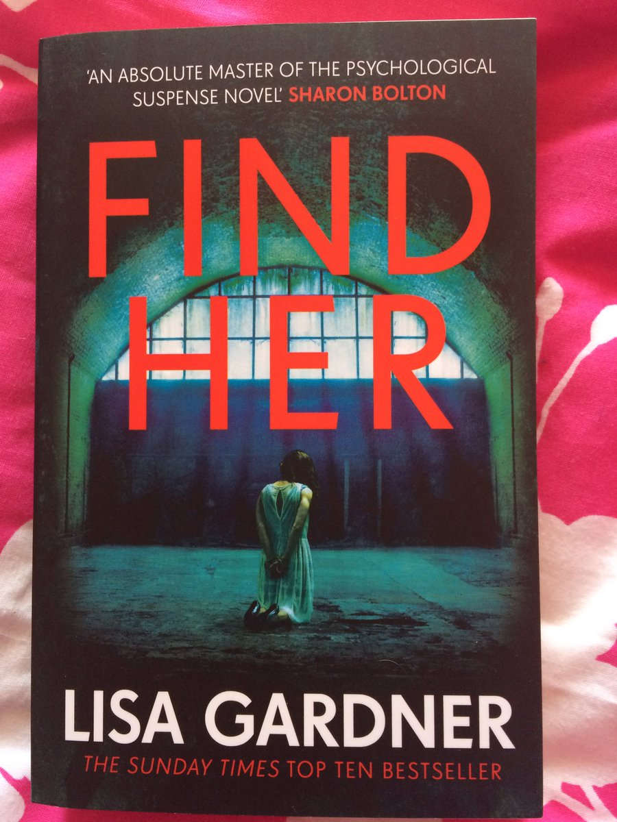 #FindHer by #LisaGardner my new read #reading #books <br>http://pic.twitter.com/vzuRkzlI7g