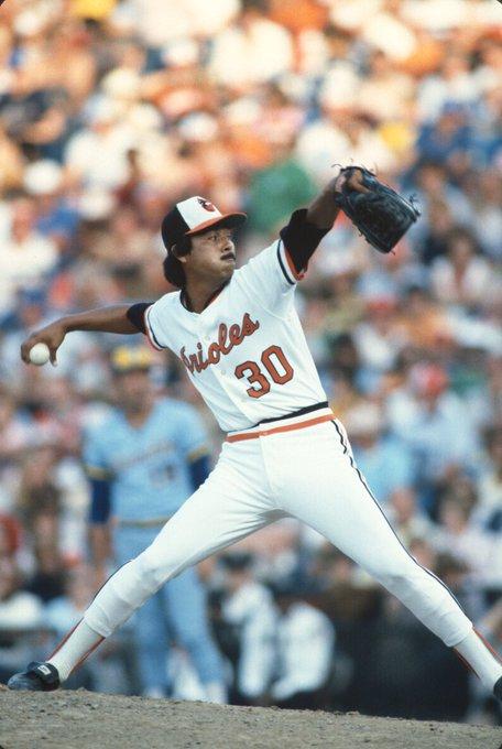 Happy 63rd Birthday to Orioles Hall of Famer, Dennis Martínez!