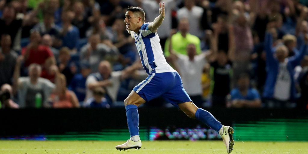 Knockaert has a big role to play for Brighton & Hove Albion in the Premier League