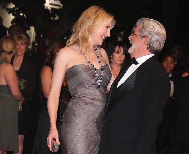 May 14: Happy Birthday Cate Blanchett and GeorgeLucas