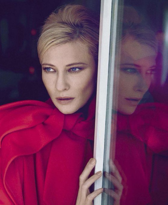 Happy 48th birthday to the great queen CATE BLANCHETT!