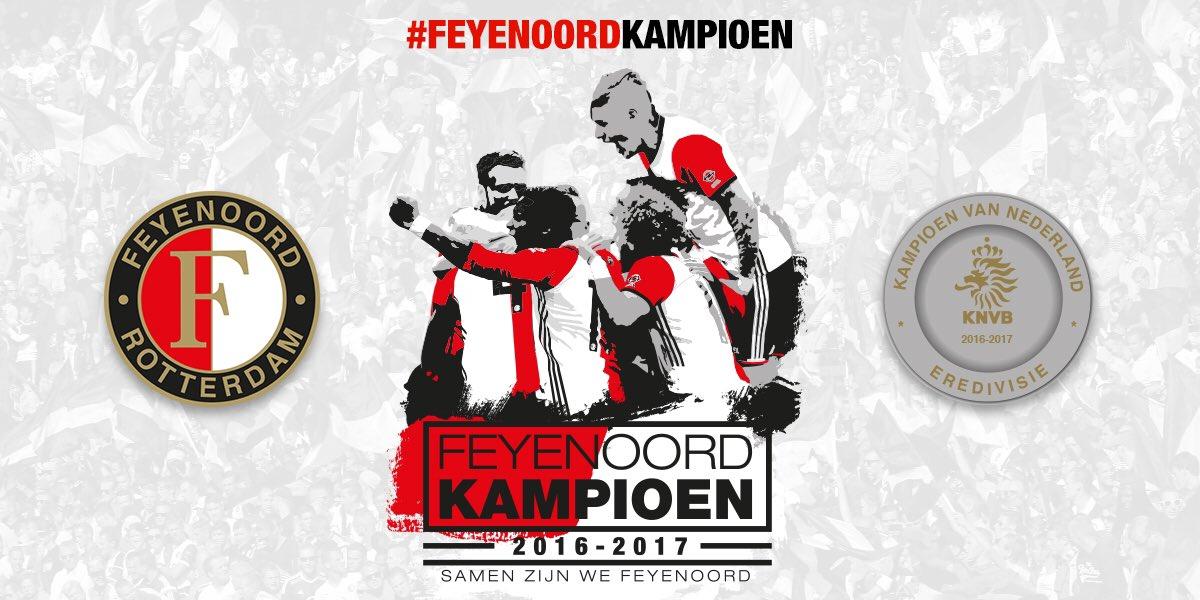 FEYENOORD IS KAMPIOEN VAN NEDERLAND! 🔴⚪️ #FeyenoordKampioen