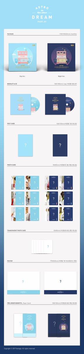 [#아스트로] 2017.05.29 6:00PM ASTRO 4th Mini Album \'Dream Part.01\'  Album Preview  #ASTRO #D_STORE #Dream_Part01