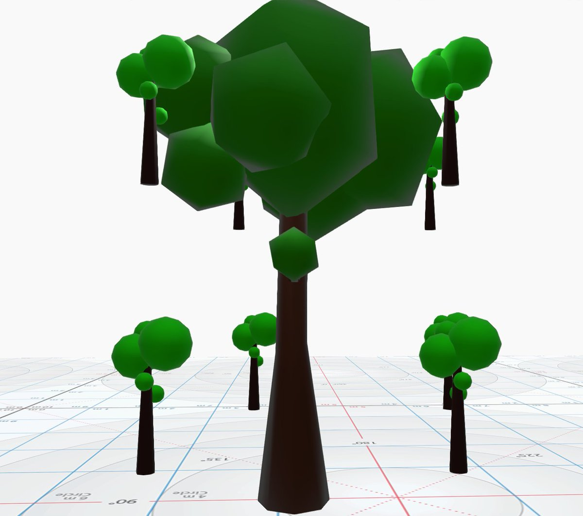 Learning about octrees today and made myself a little octree of trees to start off on the right foot. gamedev.net/resources/_/te…