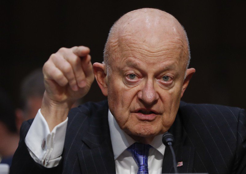 Clapper says Comey firing is a 'victory' for Russia https://t.co/OsgThWxoxz https://t.co/Lr6qZLFd2p