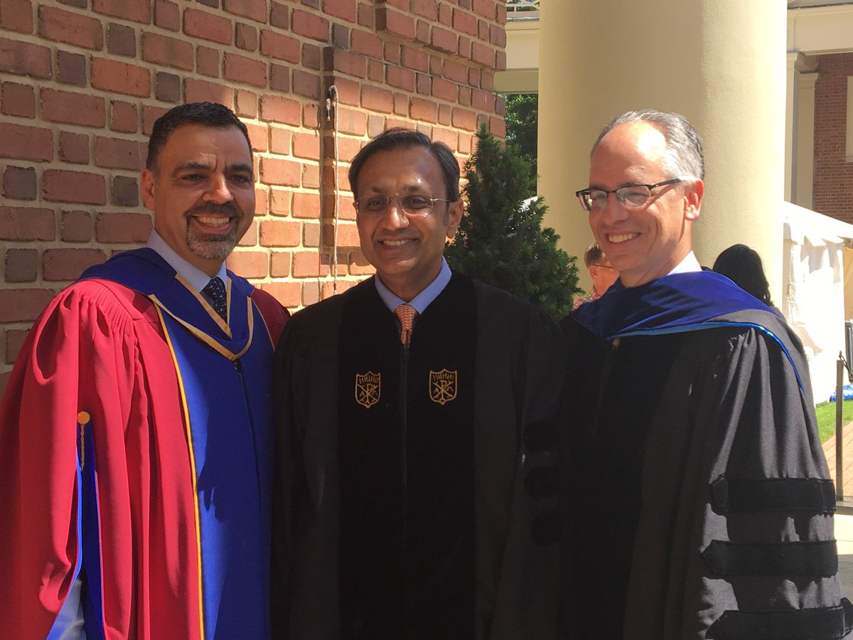 With Dean Charles Lacovou and Provost Rogan Kersh @WakeForestBiz