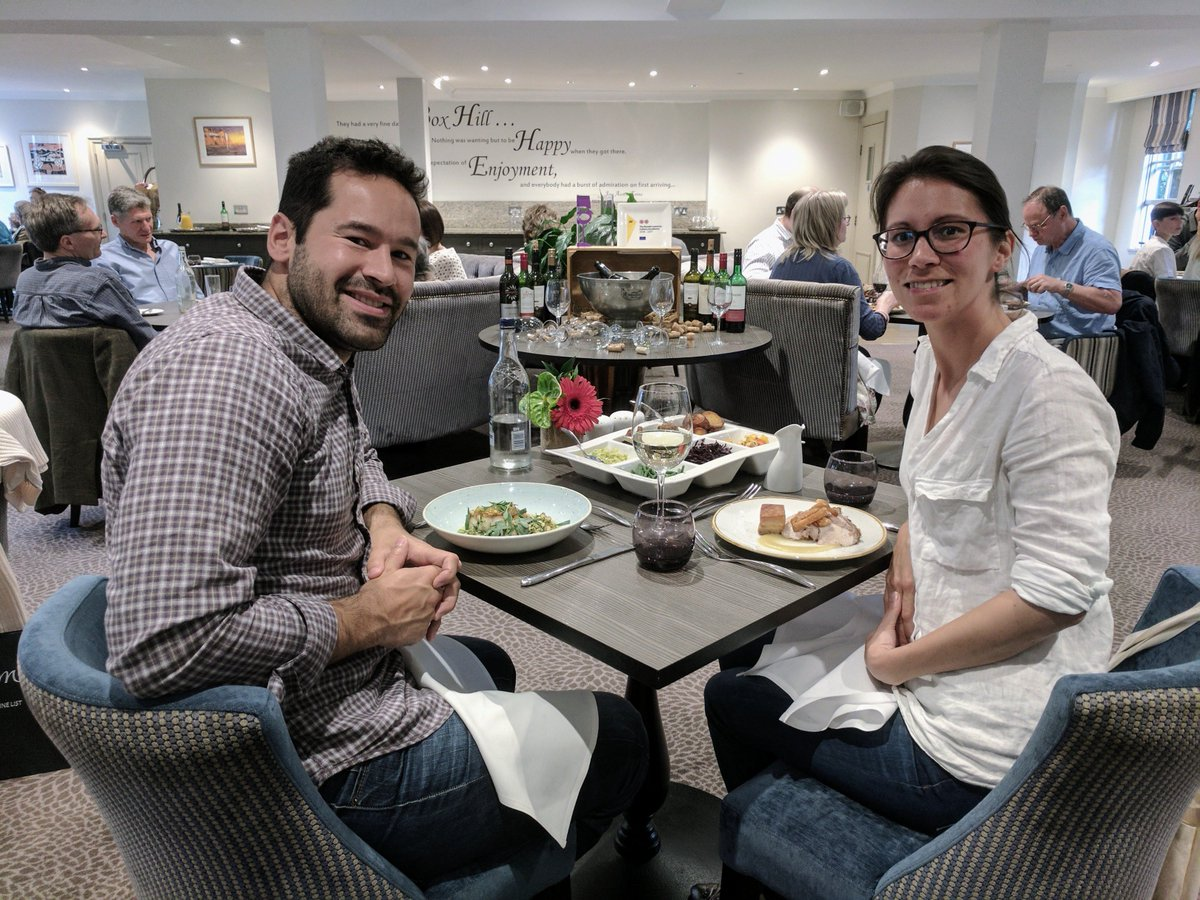 Congratulations to our Sunday Lunch competition winners! They enjoyed a 3 course meal on our award winning Emlyn Restaurant! @EmlynChef https://t.co/uyubBGX8Rl