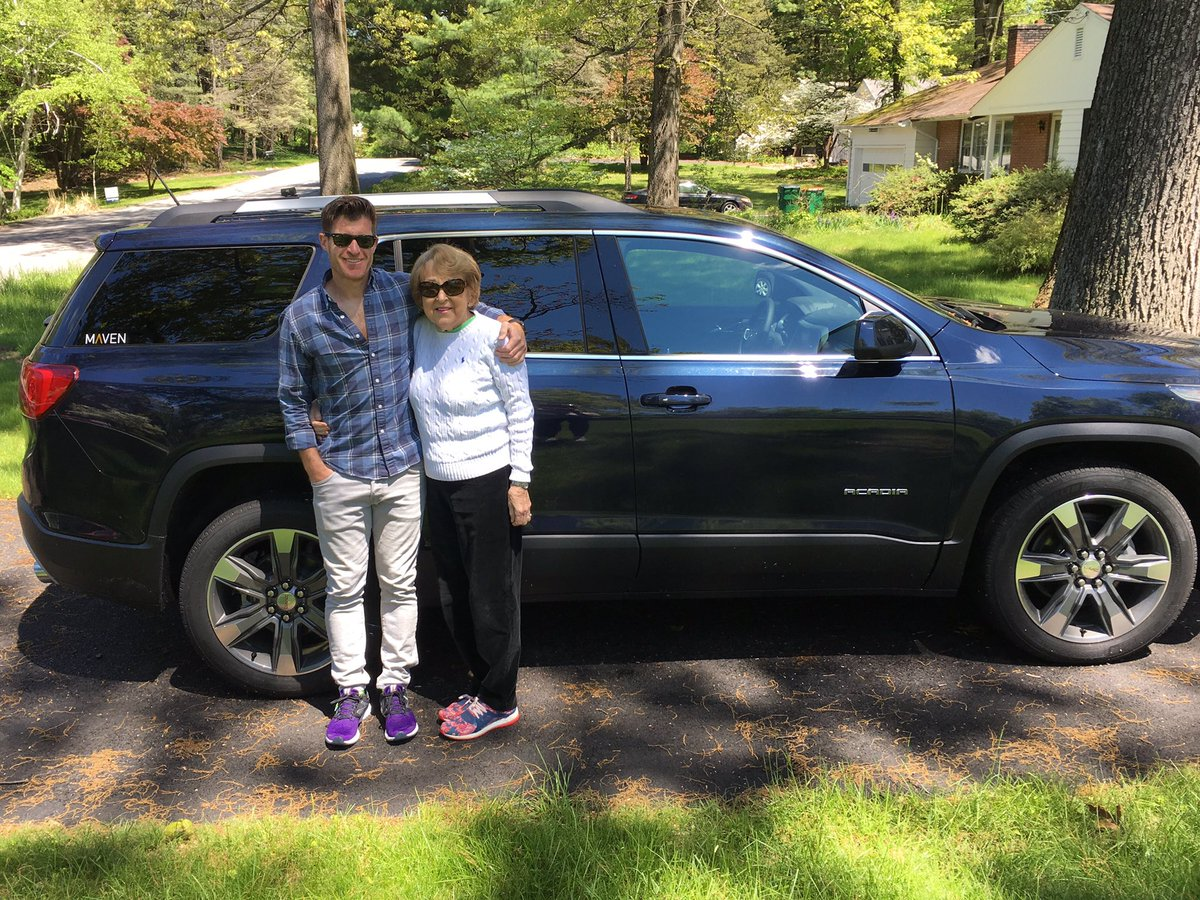 Happy Mother's Day. Cool shades mom. Thank you @DriveMaven!