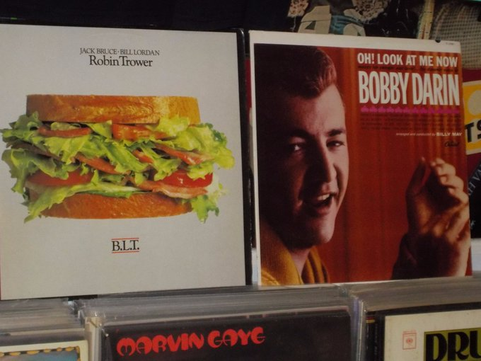 Happy Birthday to the late Jack Bruce (Cream) & the late Bobby Darin