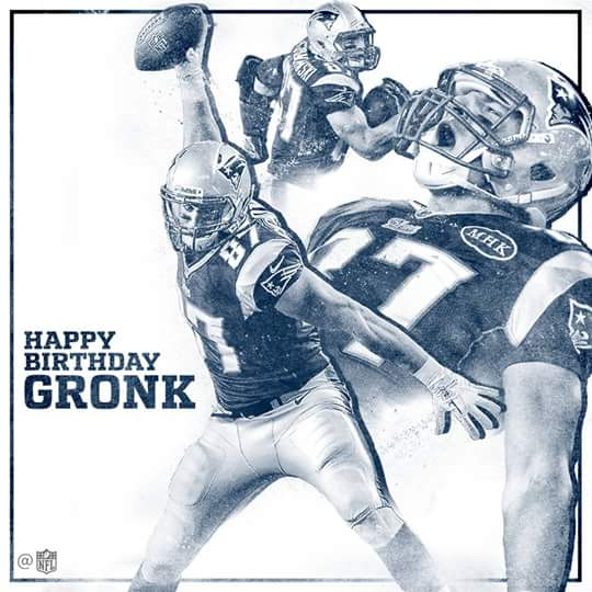 Join us in wishing Rob Gronkowski -Gronk a Happy Birthday!