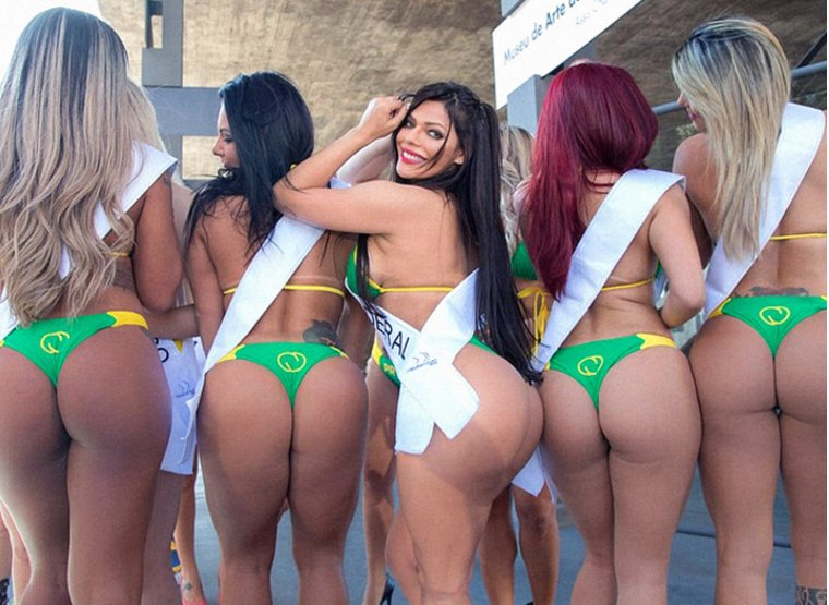 Miss bumbum contest in brazil hits bum note with implants and bribes scandal