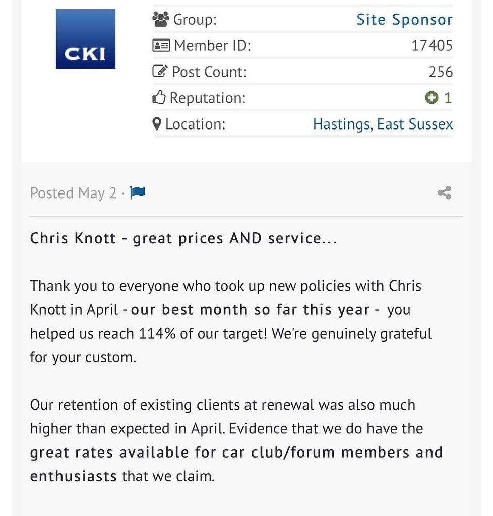 Chris Knott Insurance >> Chrisknott Hashtag On Twitter