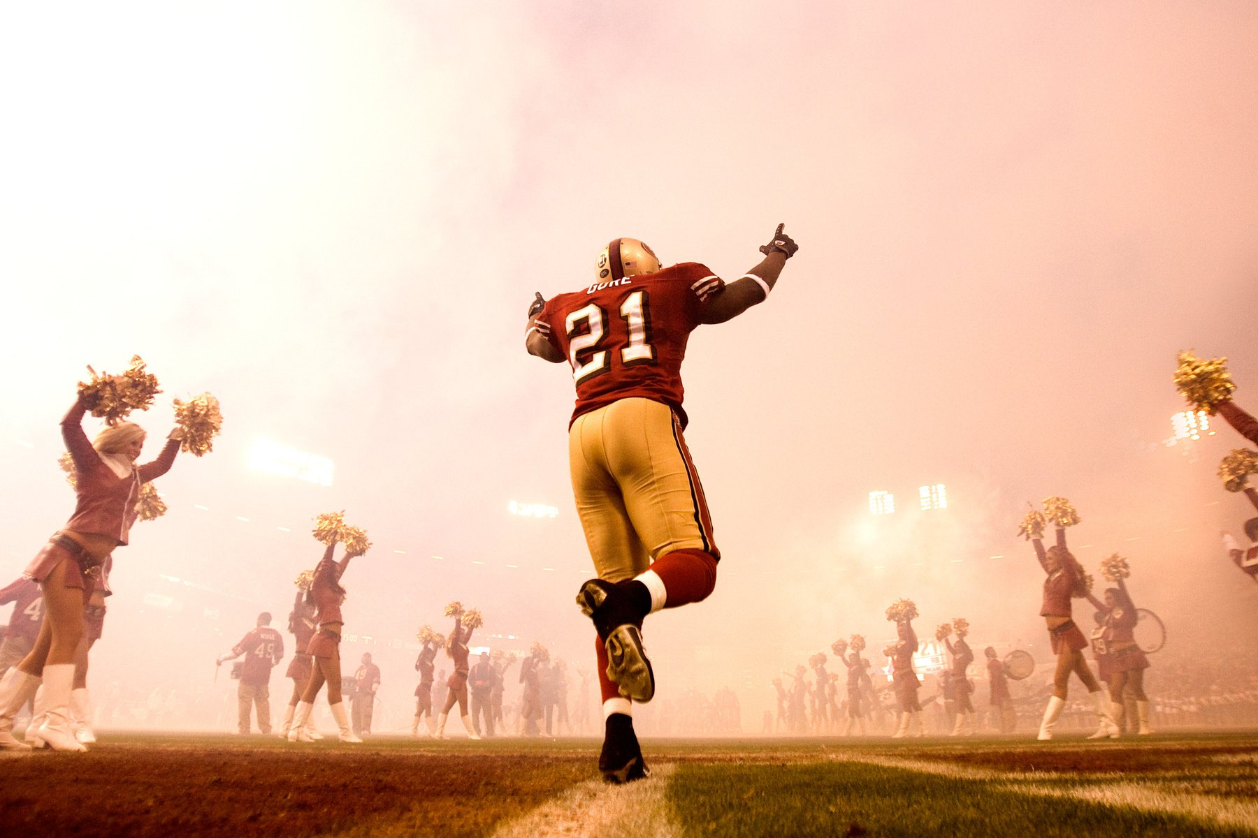 Happy birthday to one of my biggest idols in football. Happy birthday legend. Happy birthday Frank Gore.