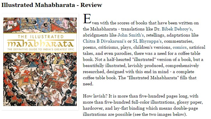 the illustrated mahabharata the definitive guide to indias greatest epic