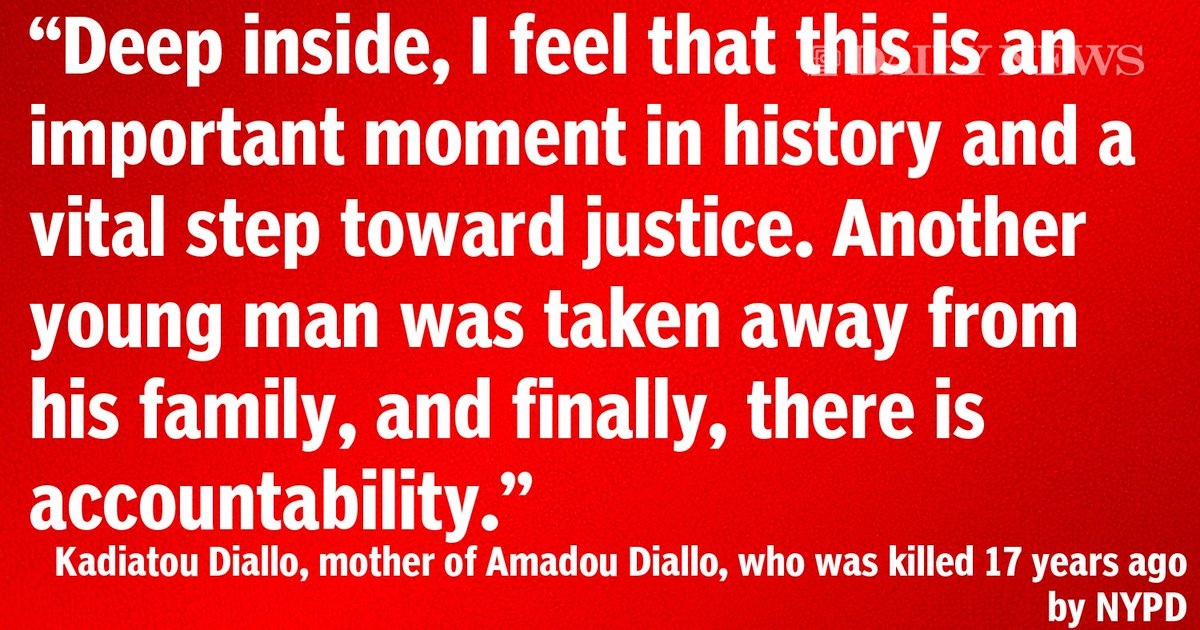 Amadou Diallo's mother speaks out on Peter Liang's conviction in Akai Gurley's death
